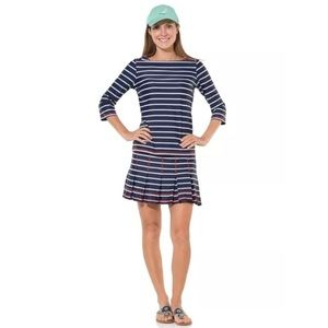 NWT Sail to Sable UPF 50 Navy Stripe Skirt - Sizes